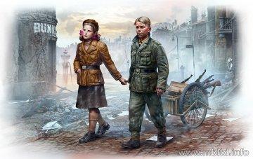 Volksstrum. Ammunition to the Frontline · MBO 35182 ·  Master Box Plastic Kits · 1:35