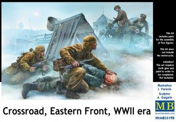 Crossroad, Eastern Front, WWII era · MBO 35190 ·  Master Box Plastic Kits · 1:35