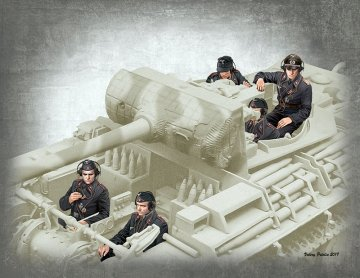 German Tank Crew 1944-1945 · MBO 35201 ·  Master Box Plastic Kits · 1:35