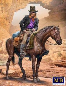 Gentleman Jim Jameson - Hired Gun - Outlaw Gunslinger series - Kit No.1 · MBO 35204 ·  Master Box Plastic Kits · 1:35
