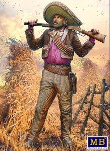 Pedro Melgoza - Bounty Hunter - Outlaw Gunslinger series - Kit No.1 · MBO 35205 ·  Master Box Plastic Kits · 1:35