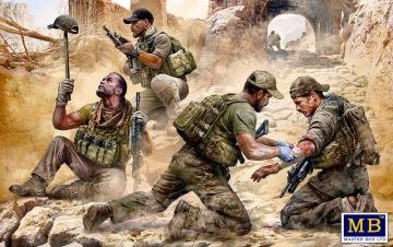 Danger Close. Special Operations Team - Present Day · MBO 35207 ·  Master Box Plastic Kits · 1:35