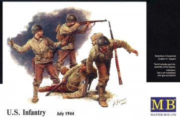US Infantry 1944-45 · MBO 3521 ·  Master Box Plastic Kits · 1:35