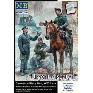 Urgent Dispatch - German Military Men - WWII era · MBO 35212 ·  Master Box Plastic Kits · 1:35
