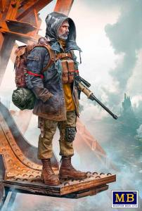 Skull Clan - Long-distance raid - An old raider - Vadim - Kit 1 · MBO 35213 ·  Master Box Plastic Kits · 1:35