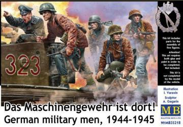 German military men 1944-1945 - Das Maschinengewehr ist dort! · MBO 35218 ·  Master Box Plastic Kits · 1:35