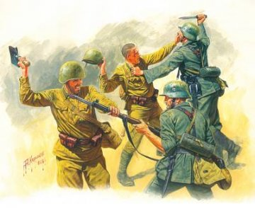Hand to Hand Fight 1941-1942 Eastern Front Series · MBO 3524 ·  Master Box Plastic Kits · 1:35