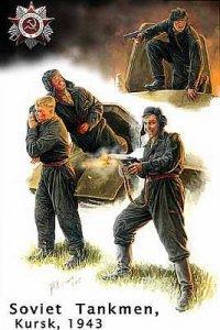 Bail Out! Russian Tank Crew Kursk 1943 · MBO 3532 ·  Master Box Plastic Kits · 1:35