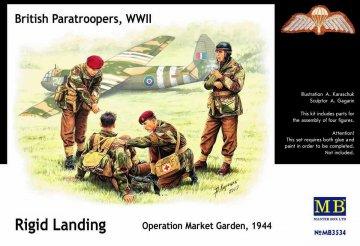 British Paratroopers WWII Rigid Landing Operation Market Garden 1944 · MBO 3534 ·  Master Box Plastic Kits · 1:35