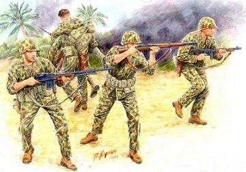 ´Bloody Atol´ U.S. Marine Corps Infantry · MBO 3543 ·  Master Box Plastic Kits · 1:35