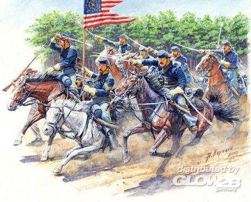 8th Pensy. Cavalry May 1 · MBO 3550 ·  Master Box Plastic Kits · 1:35