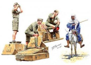 Deutsches Afrika Korps, WWII · MBO 3559 ·  Master Box Plastic Kits · 1:35