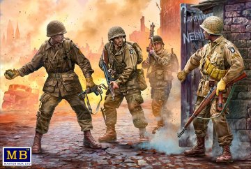 US Paratroopers, Europe, 1944-1945 · MBO 3574 ·  Master Box Plastic Kits · 1:35