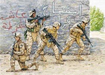 USMC Team Irak vol. 1 · MBO 3575 ·  Master Box Plastic Kits · 1:35