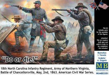 US Civil War - Do or die!!! · MBO 3581 ·  Master Box Plastic Kits · 1:35