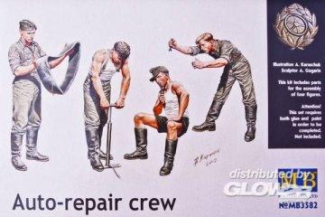 Auto-Repair Crew · MBO 3582 ·  Master Box Plastic Kits · 1:35