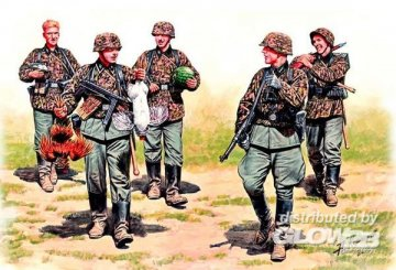 German Elite infantry, Eastern Front WWII · MBO 3583 ·  Master Box Plastic Kits · 1:35