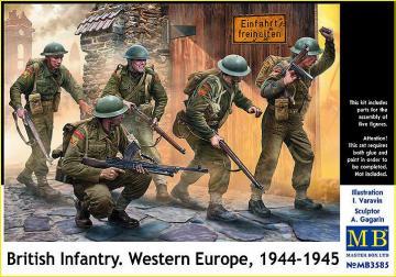 British Infantry - Western Europe 1944-1945 · MBO 3585 ·  Master Box Plastic Kits · 1:35