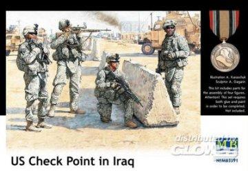 U.S. in Iraq, Checkpoint · MBO 3591 ·  Master Box Plastic Kits · 1:35