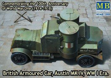 British Armoured Car Austin MK IV · MBO 72008 ·  Master Box Plastic Kits · 1:72
