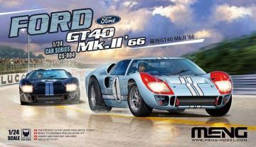 Ford GT40 Mk.II 66 · MEN CS004 ·  MENG Models · 1:24