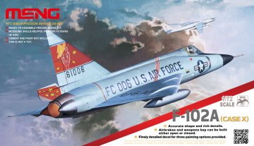 F-102A (Case X) · MEN DS003 ·  MENG Models · 1:72