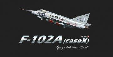 F-102A (case X) George Walker Bush · MEN DS003S ·  MENG Models · 1:72