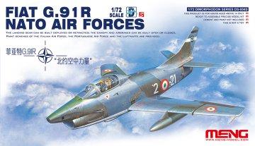 Fiat G.91R NATO Air Forces · MEN DS004s ·  MENG Models · 1:72