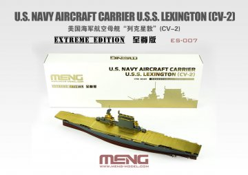 U.S. Navy Aircraft Carrier U.S.S. Lexington (Cv-2) - Extreme Edition · MEN ES007 ·  MENG Models · 1:700