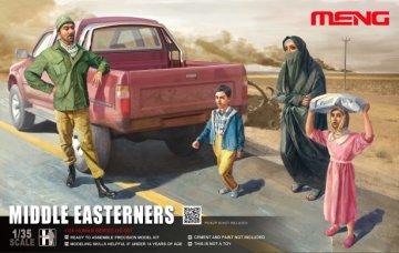 Middle Easterns in the Street · MEN HS001 ·  MENG Models · 1:35