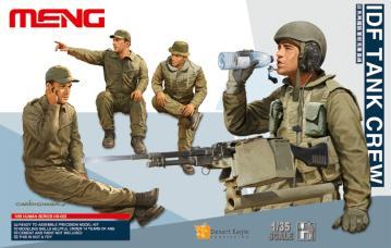 IDF Tank Crew · MEN HS002 ·  MENG Models · 1:35