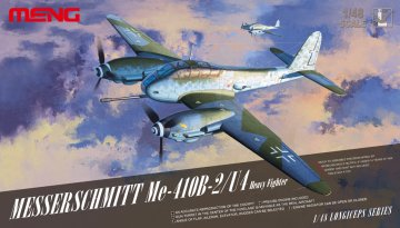 Messerschmitt Me-410B-2/U4 Heavy Fighter · MEN LS001 ·  MENG Models · 1:48