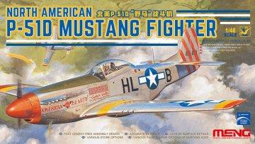 North American P-51D Mustang Fighter · MEN LS006 ·  MENG Models · 1:48