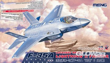 F-35A Lockheed Martin Lightning II Fight · MEN LS007 ·  MENG Models · 1:48
