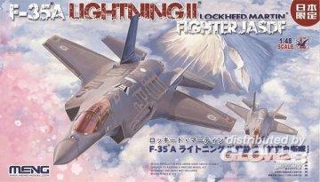 Lockheed Martin F-35A Lightning II Fight JASDF ** Anleitung japanisch ** · MEN LS008 ·  MENG Models · 1:48