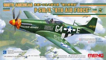 North American P-51D/K 8th Air Force · MEN LS010 ·  MENG Models · 1:48