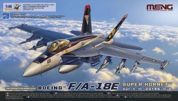 Boeing F/A-18E Super Hornet · MEN LS012 ·  MENG Models · 1:48