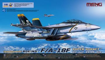 Boeing F/A-18F Super Hornet · MEN LS013 ·  MENG Models · 1:48