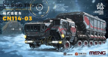 The Wandering Earth Cargo Truck-Transport Truck CN114-03 · MEN MMS001 ·  MENG Models · 1:100