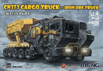 The Wandering Earth - CN373 Cargo Truck - Iron Ore Truck · MEN MMS006 ·  MENG Models · 1:200