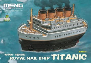 Royal Mail Ship Titanic (CARTOON MODEL) · MEN MOE001 ·  MENG Models