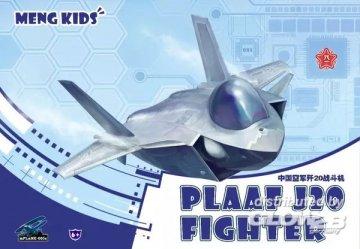 PLAAF J20 Fighter · MEN MPLANE005S ·  MENG Models