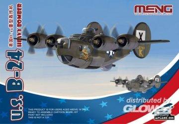 U.S. B-24 Heavy Bomber (Cartoon Model) · MEN mPLANE006 ·  MENG Models