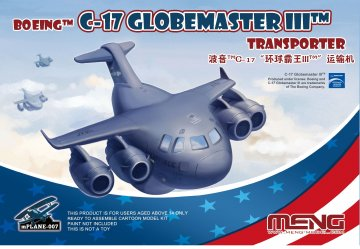 Boeing C-17 Globemaster III Transporter · MEN mPLANE007 ·  MENG Models