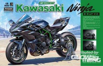 Kawasaki Ninja H2R · MEN MT001 ·  MENG Models · 1:9