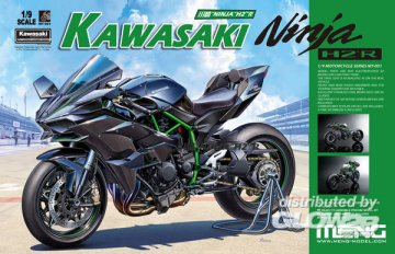 Kawasaki Ninja H2R (Pre-colored Edition) · MEN MT001S ·  MENG Models · 1:9