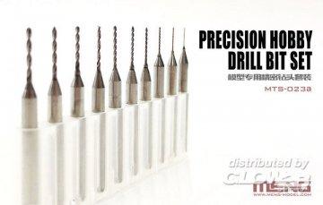 Bohrer-Set für MTS-023 (Precision Hobby Drill Bit Set) · MEN MTS023a ·  MENG Models