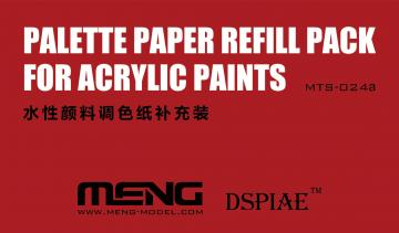 Palette Paper Refill Pack · MEN MTS024a ·  MENG Models