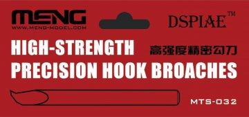 High-strength Precision Hook Broaches · MEN MTS032 ·  MENG Models