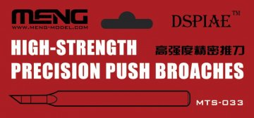 High-strength Precision Push Broaches · MEN MTS033 ·  MENG Models